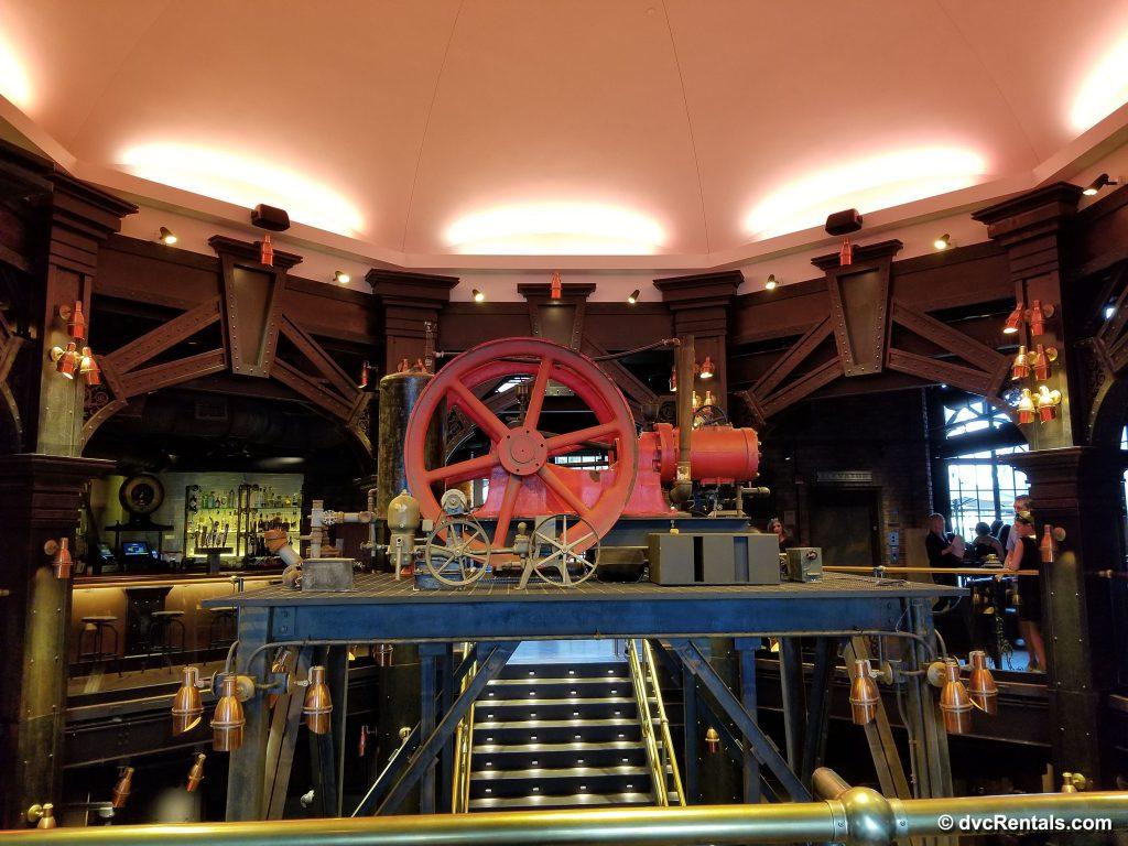 The Edison – 1st floor focal point