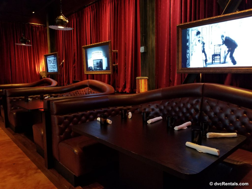 The Edison – booths