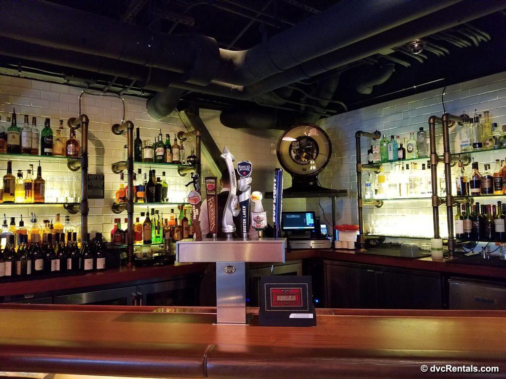 The Edison – main floor bar