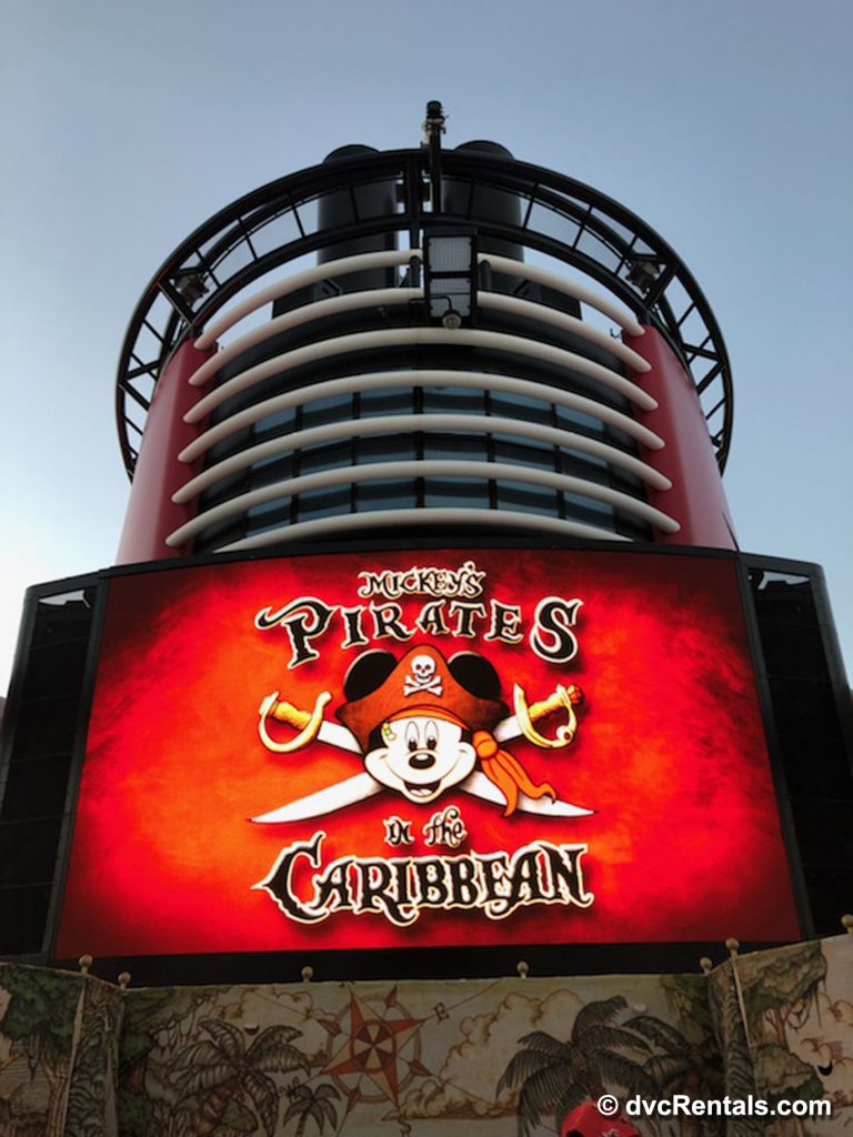 Pirates in the Caribbean party about to begin