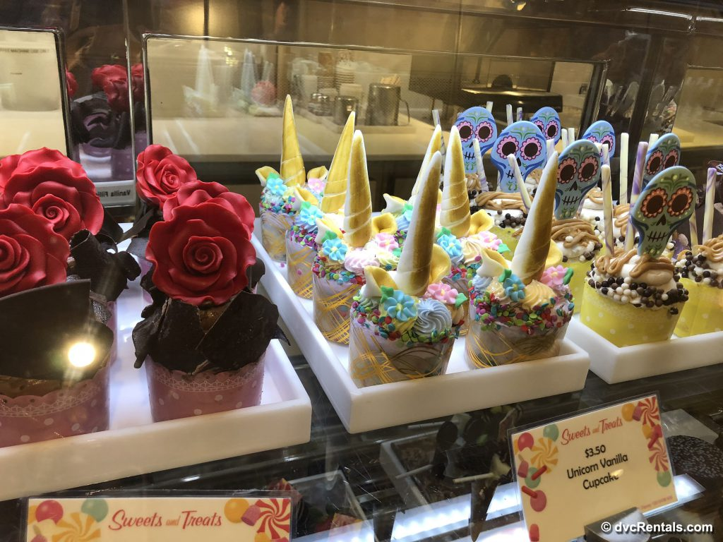 Cupcakes at Vanellope's Sweets and Treats
