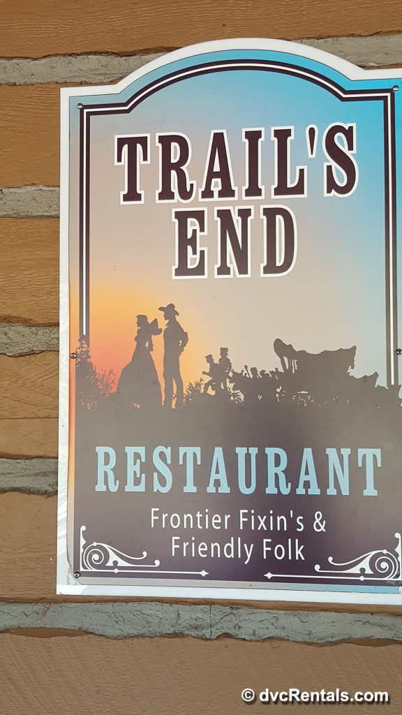 Trail's End Sign