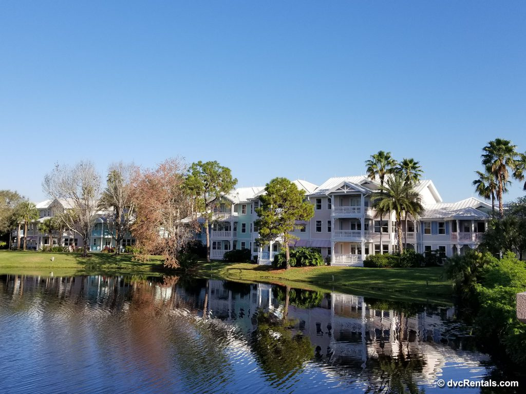 Exterior view of buildings throughout Disney's Old Key West Resort