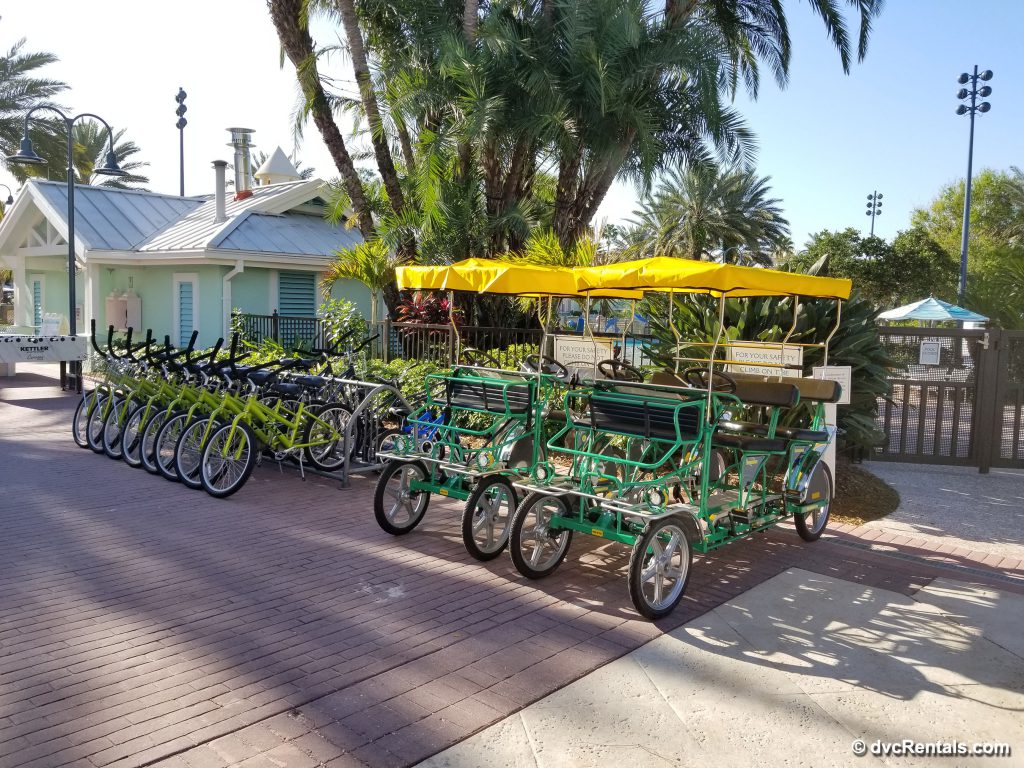 Bike Rentals available at Disney's Old Key West