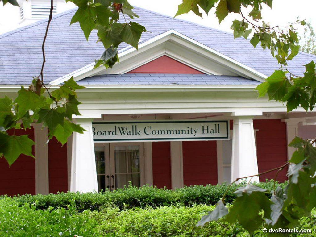 The Community Hall at Disney's Boardwalk Villas