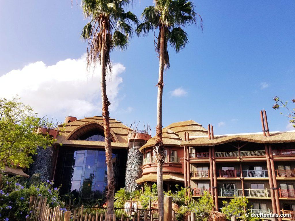 Exterior view of Disney's Animal Kingdom – Jambo House building
