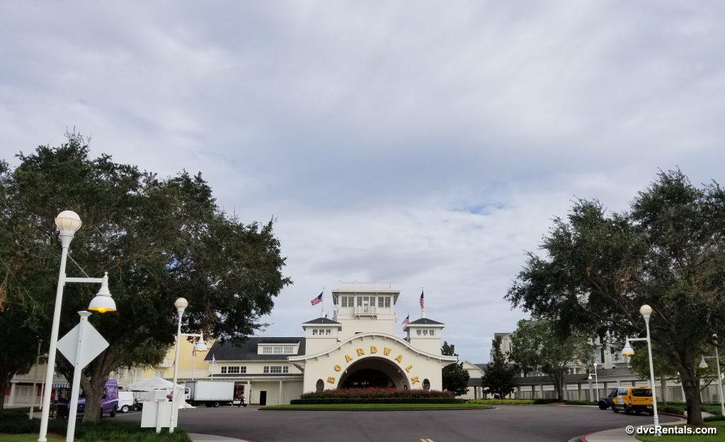 Exterior view of Disney's Boardwalk Villas