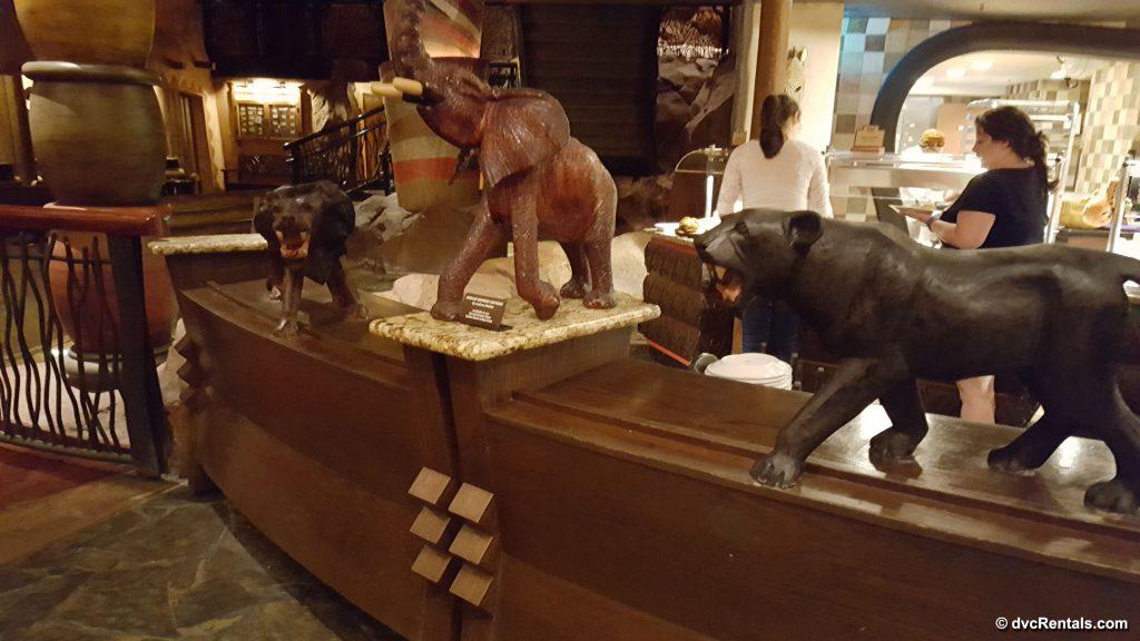 Photo of décor at Boma; a restaurant at Disney's Animal Kingdom