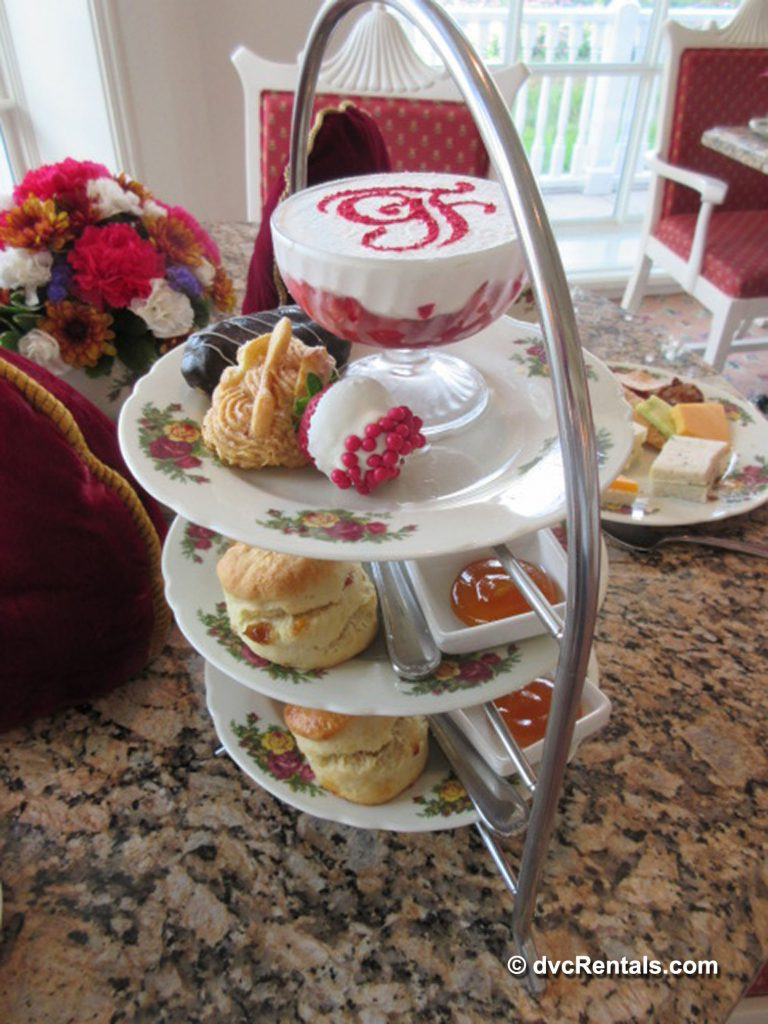 Pastries from Afternoon Tea at the Grand Floridian