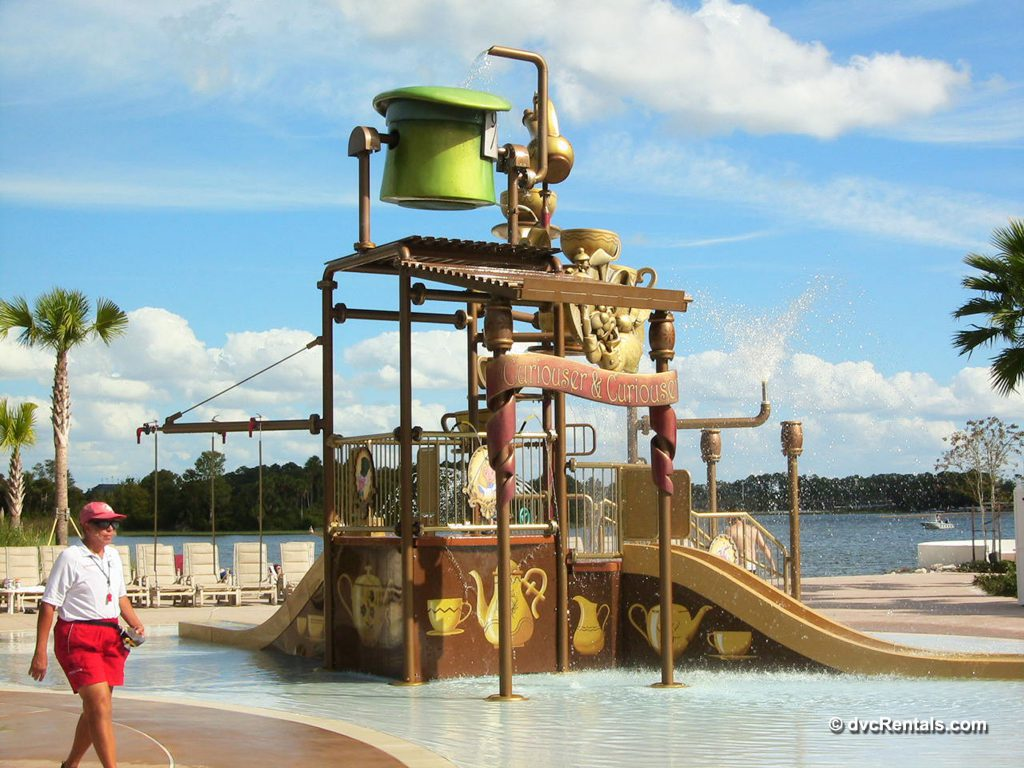 Alice in Wonderland Themed Water play area