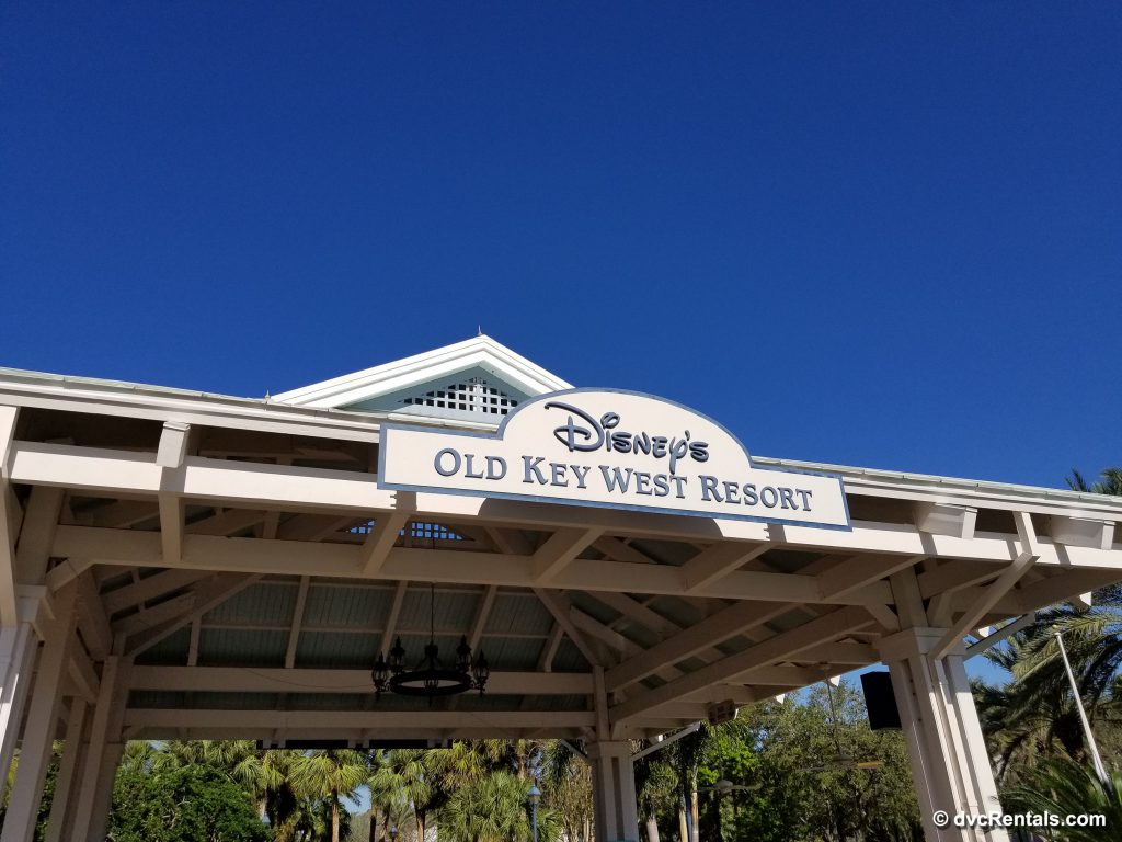 Sign at Disney's Old Key West