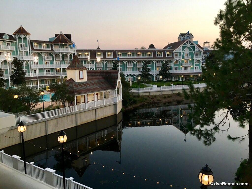 Exterior image of Disney's Beach Club Villas