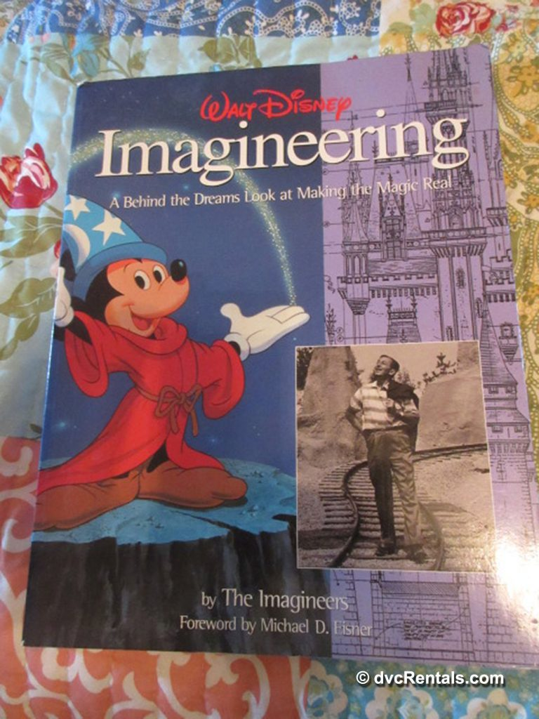 Book Cover of Walt Disney Imagineering: A Behind the Dreams Look at Making the Magic Real