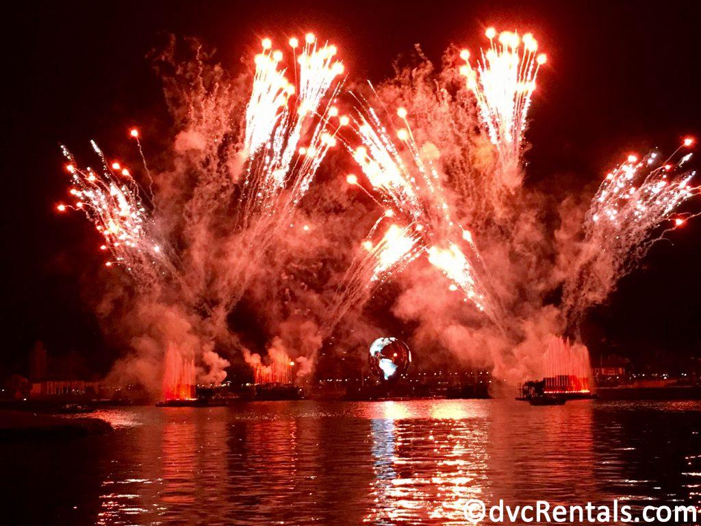 IlumiNations Fireworks at Epcot