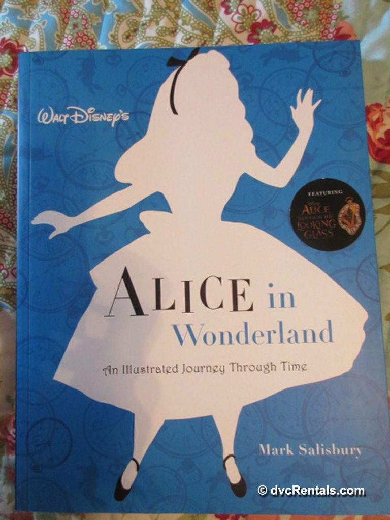 Book Cover of Alice in Wonderland, An Illustrated Journey Through Time