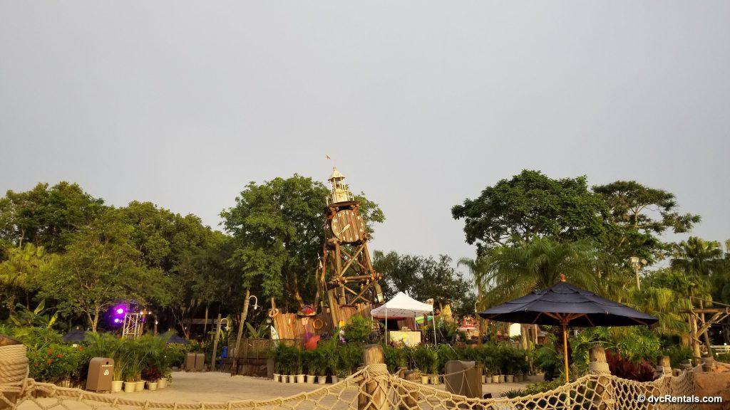 Clocktower at Typhoon Lagoon