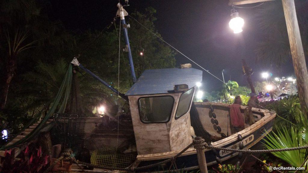 Shipwreck at Typhoon Lagoon