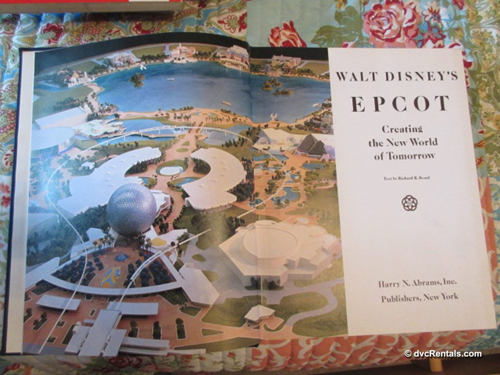 Book cover of Walt Disney's Epcot: Creating the New World of Tomorrow