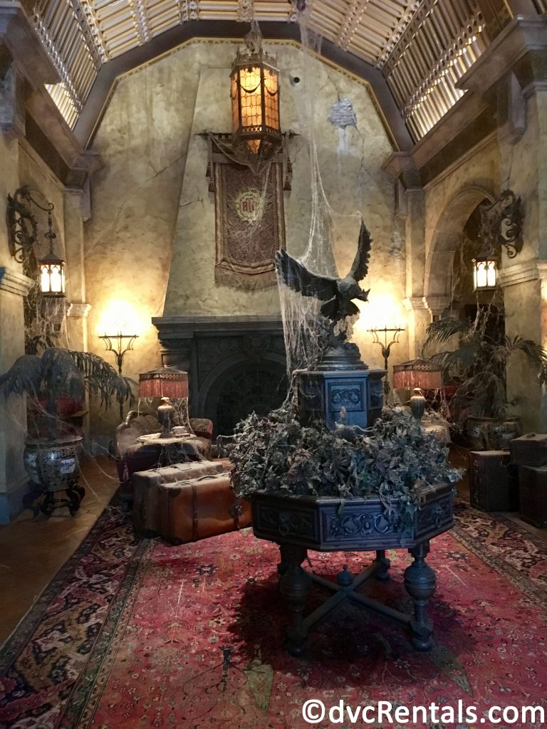 Lobby of the Tower of Terror