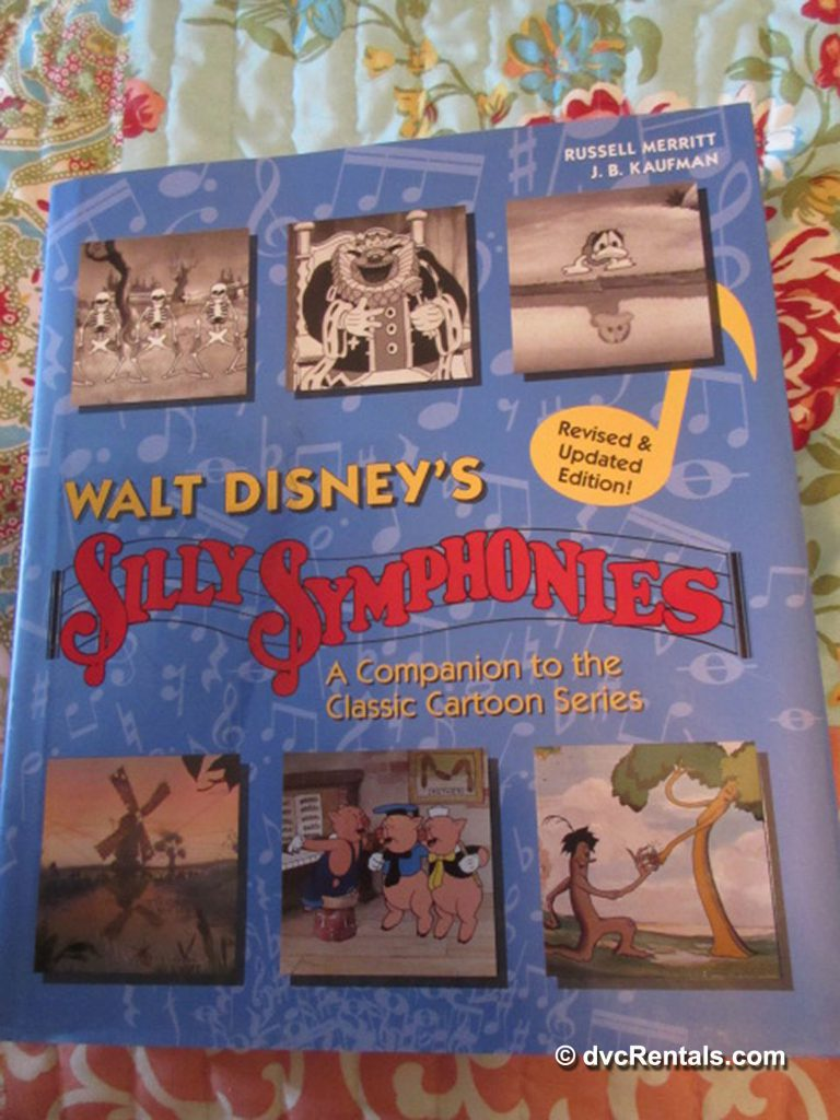 Book cover of Walt Disney's Silly Symphonies: A Companion Guide to the Classic Cartoon Series