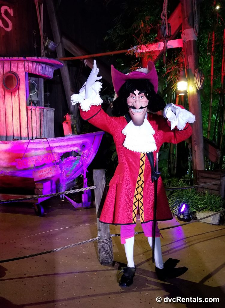 Character Meet & Greet with Captain Hook