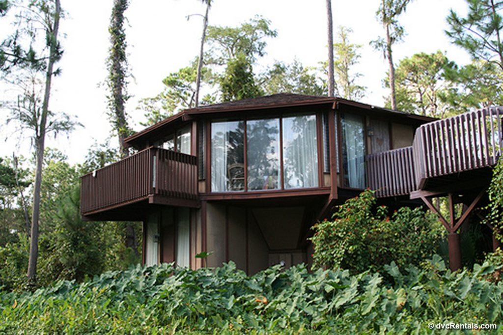 Exterior picture of a Treehouse at Disney's Saratoga Springs