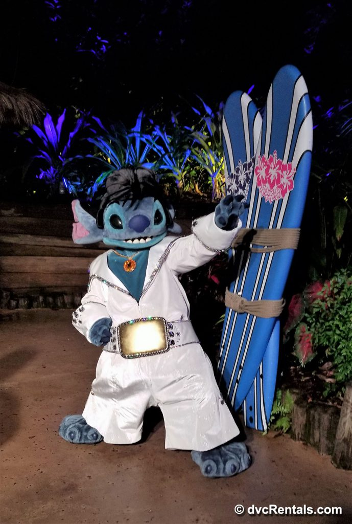 Character Meet & Greet with Elvis Stitch