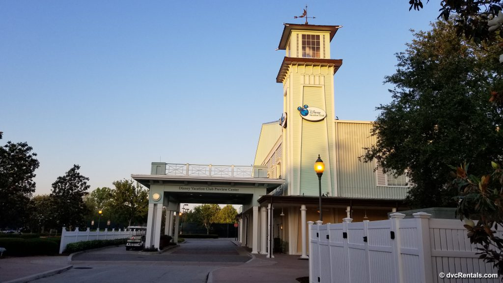 Exterior view of the DVC Preview Center