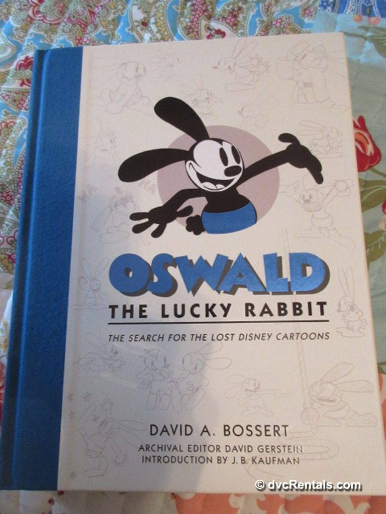 Book cover of Oswald the Lucky Rabbit: The Search for the Lost Disney Cartoons