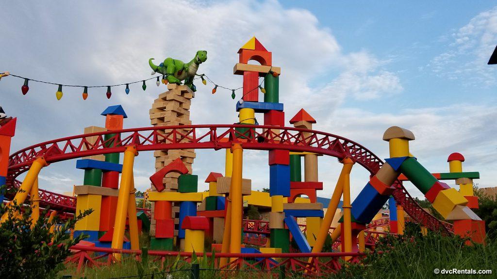 Slinky Dog Dash Coaster in Toy Story Land