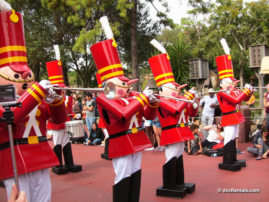 Toy Soldiers from the Christmas Parade