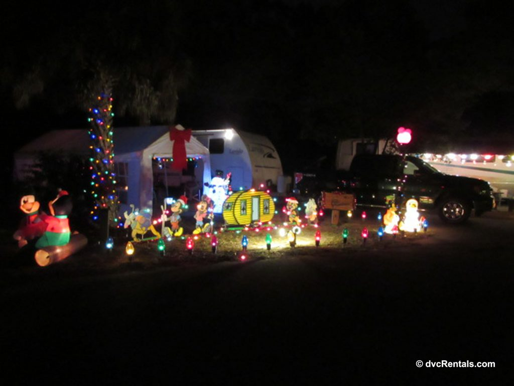 Fort Wilderness Campground decorations