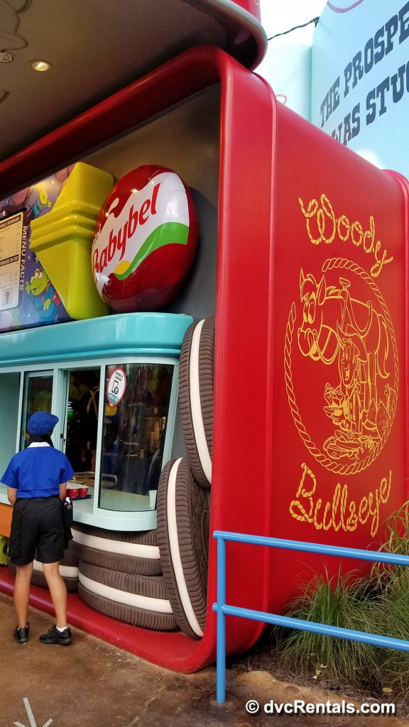 Exterior image of ordering area for Woody's Lunch Box