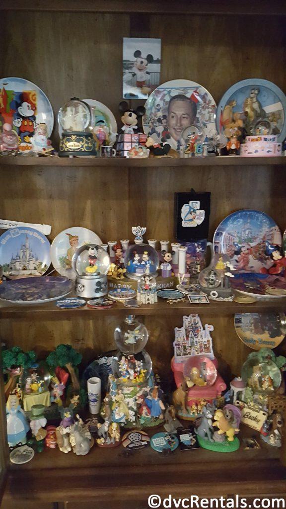 Collection of Disney Souvenirs