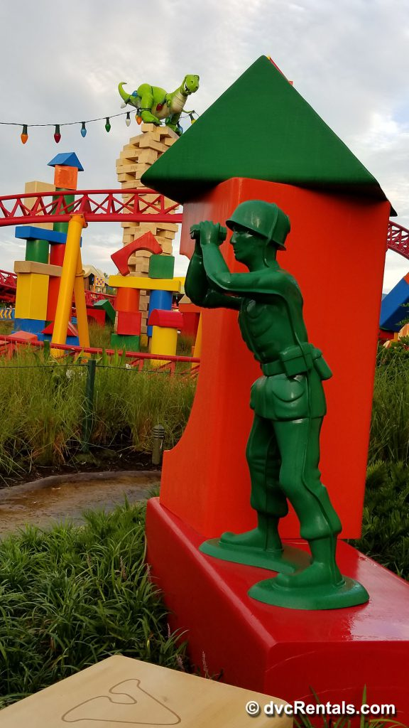 Theming within Toy Story Land