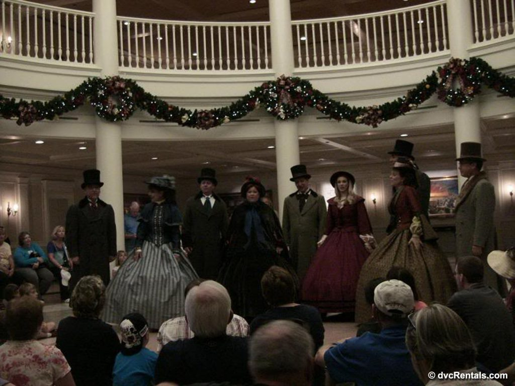 Voices of Liberty performing in Epcot