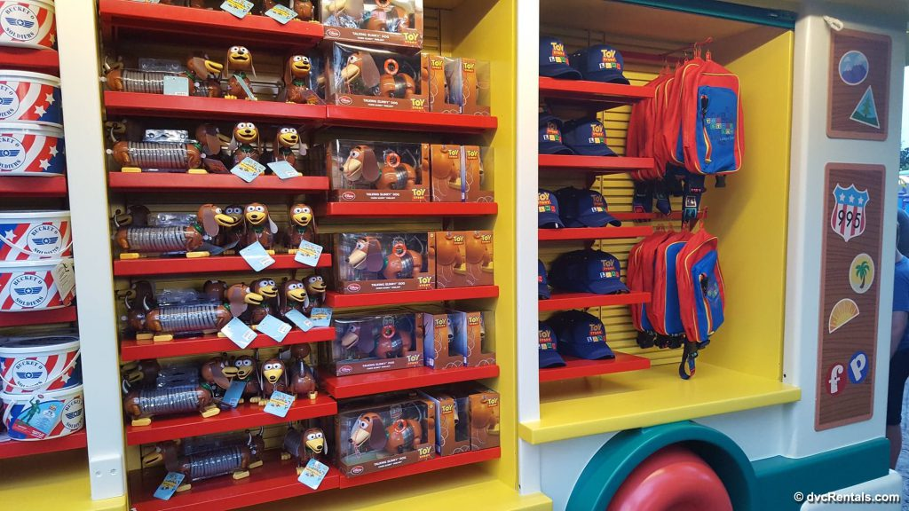 Merchandise cart in Toy Story Land