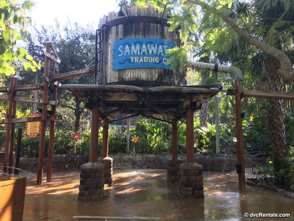 Samawati Waterplay Area