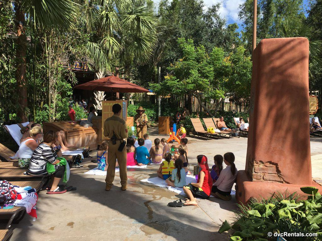 Poolside Recreation activities