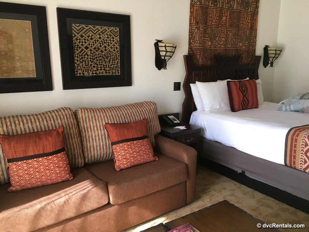 Second bedroom of a 2 bedroom villa