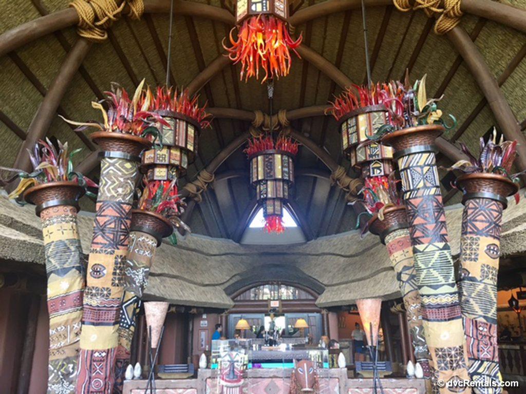 Lobby of Disney's Animal Kingdom – Kidani Village