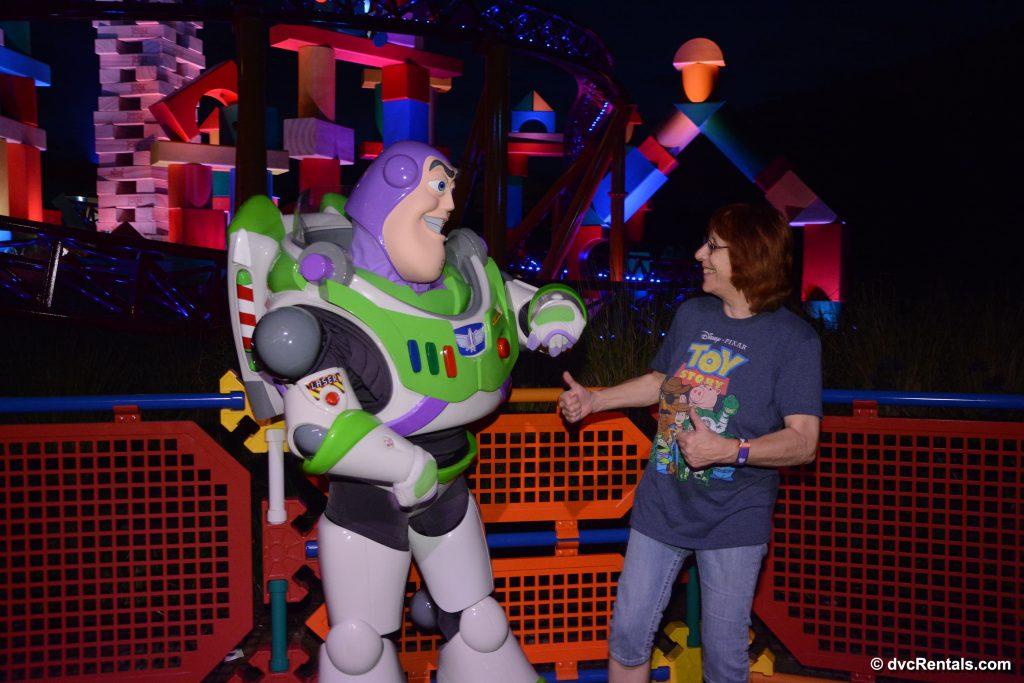 Buzz Lightyear Meet and Greet