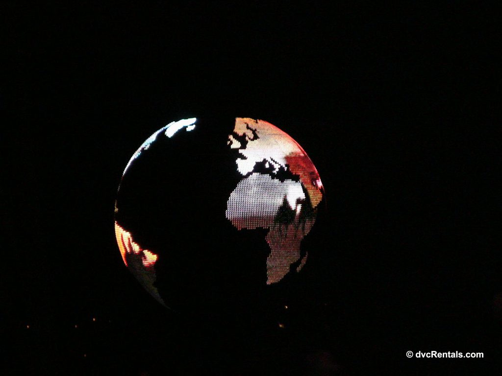 Globe from IlumiNations