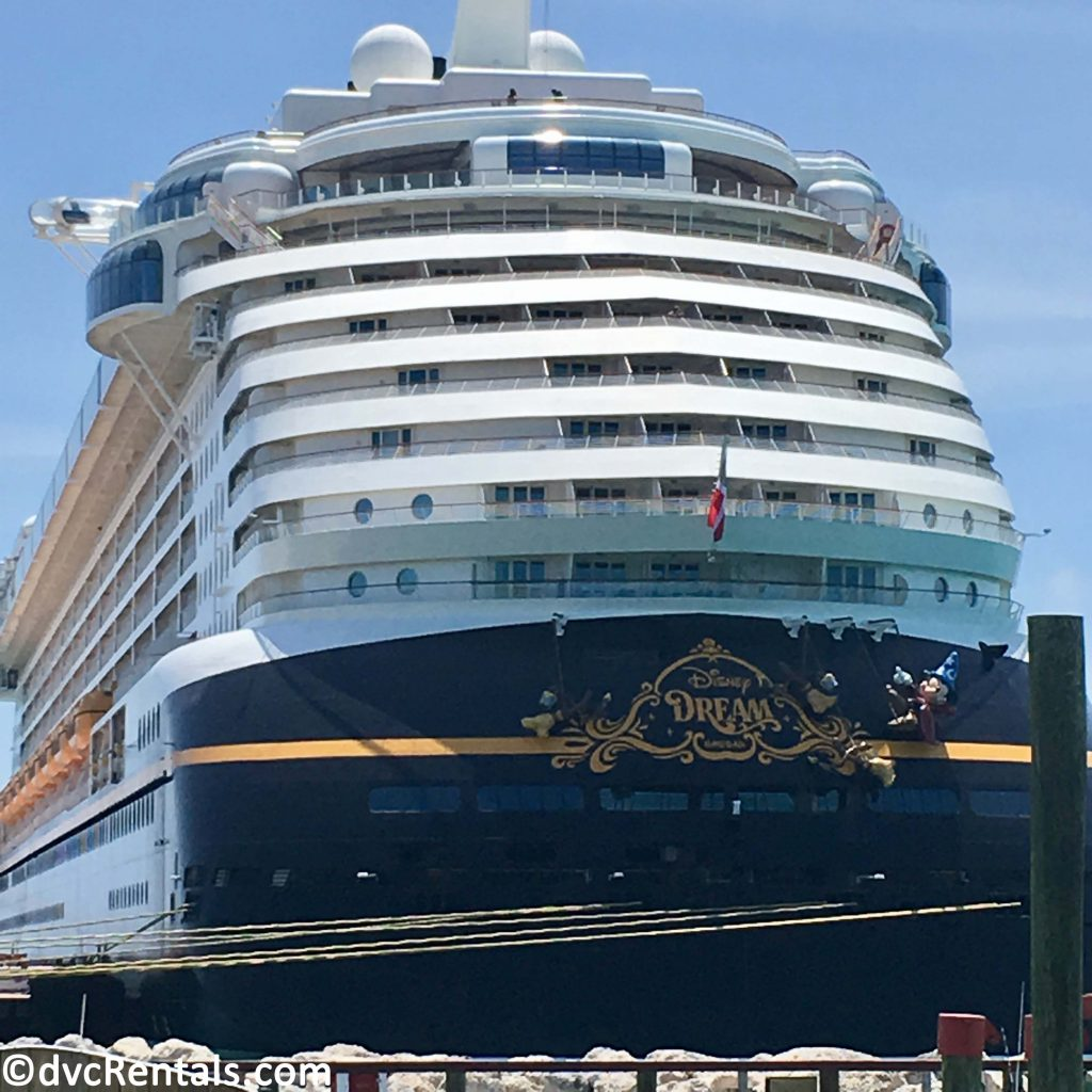 Exterior of Disney Dream