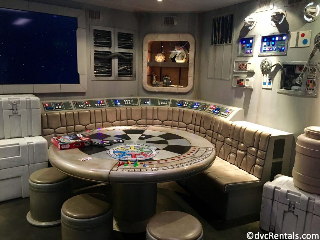 Millennium Falcon area on the Disney Dream