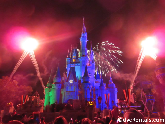 HalloWishes fireworks from the Boo to You Parade