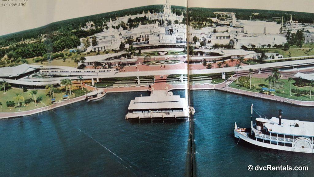 Picture of Magic Kingdom in 1978