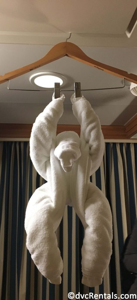 Monkey towel animal