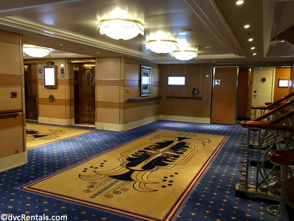 Hallway of Disney Dream