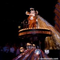 Mickey Mouse in the Electrical Parade